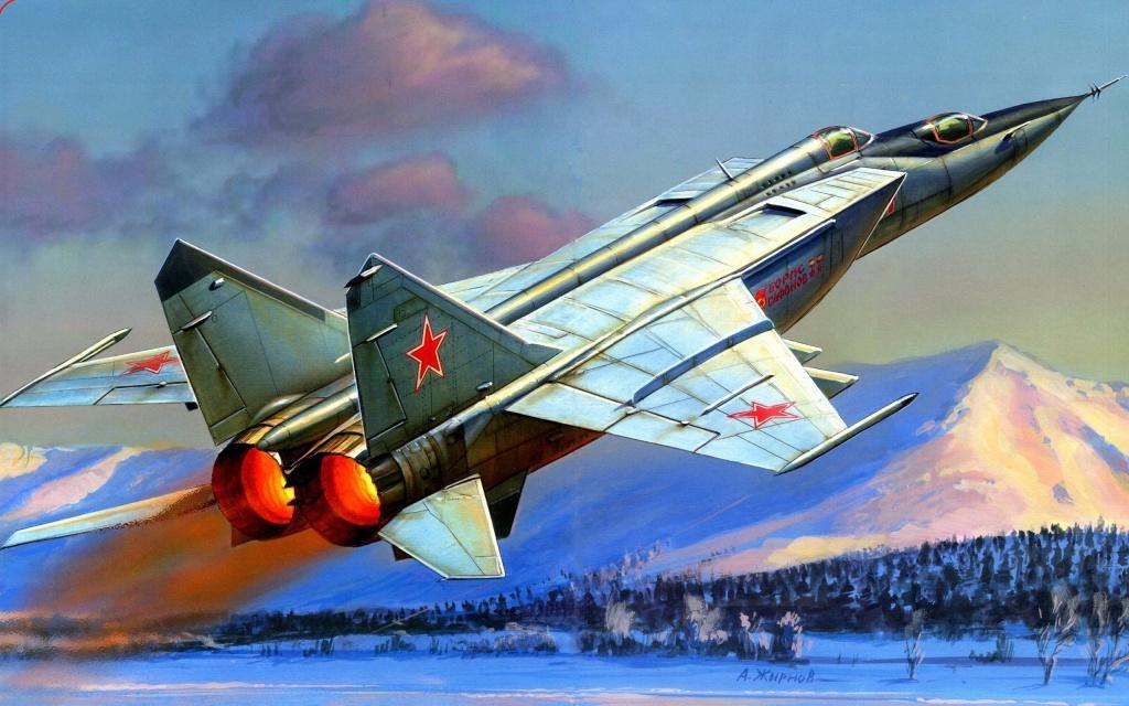МиГ-25УБ. А.Жирнов