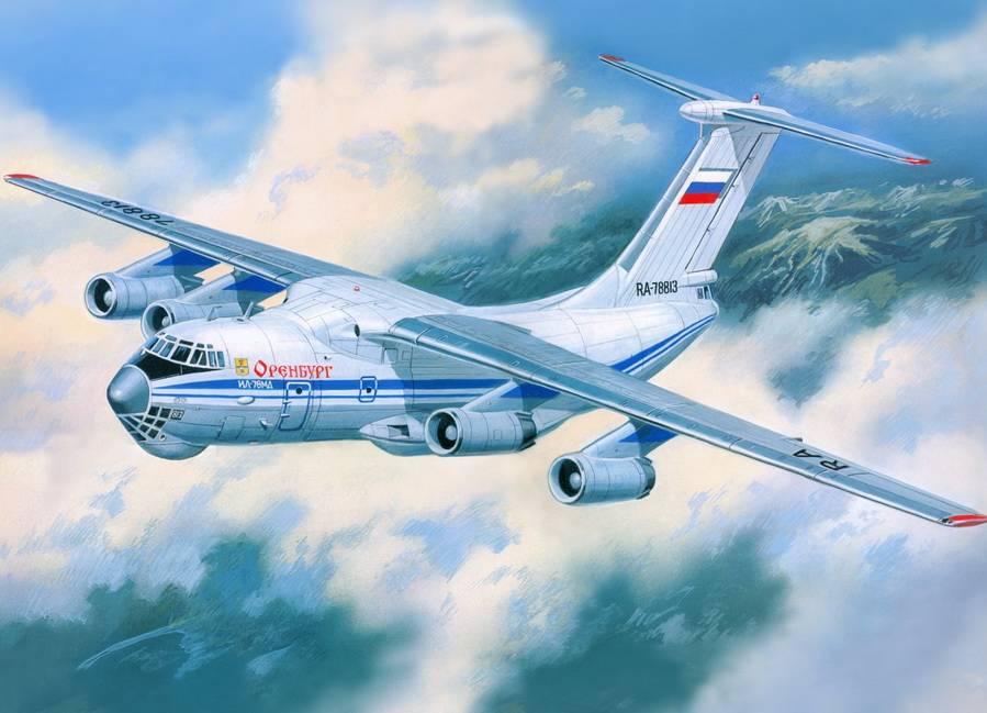Валерий Руденко. Российский самолёт Ил-76