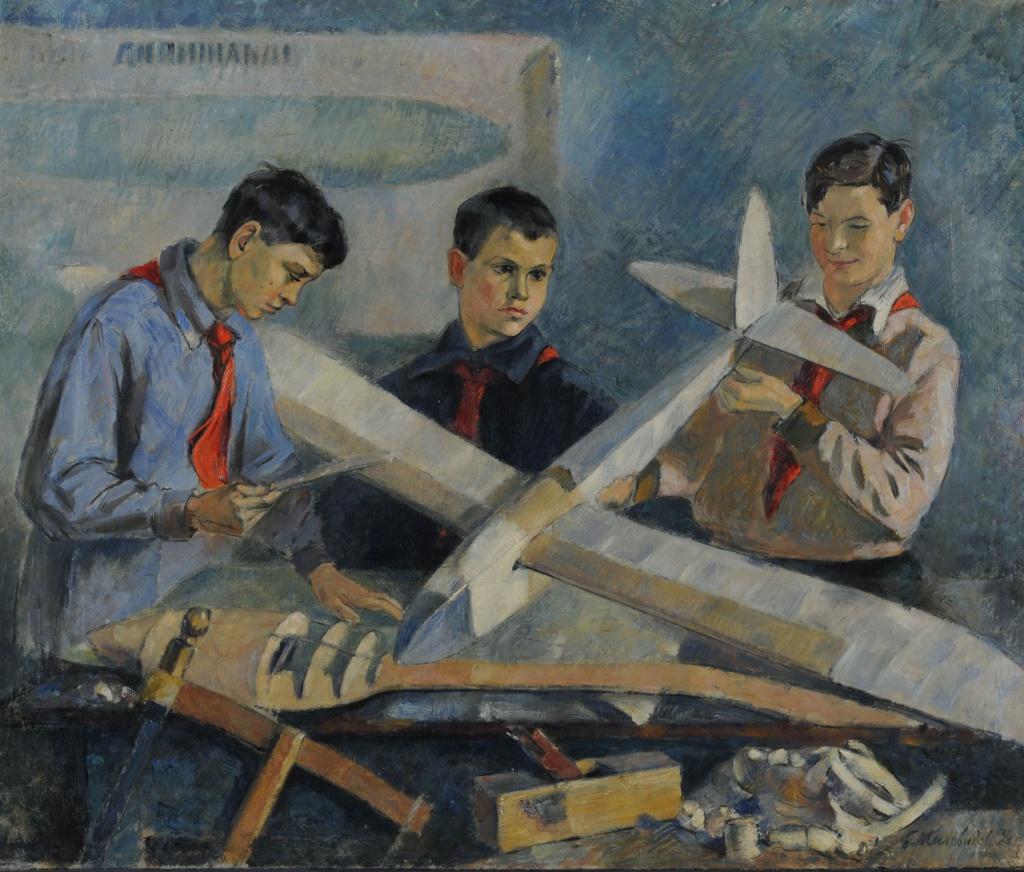 «Авиамоделисты», Б.В.Миловидов, 1934