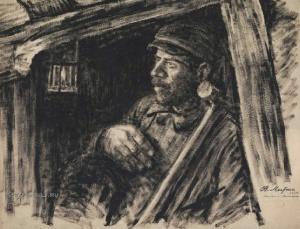 Литко Василий Елисеевич (1900-1939) «Шахтер» 1934