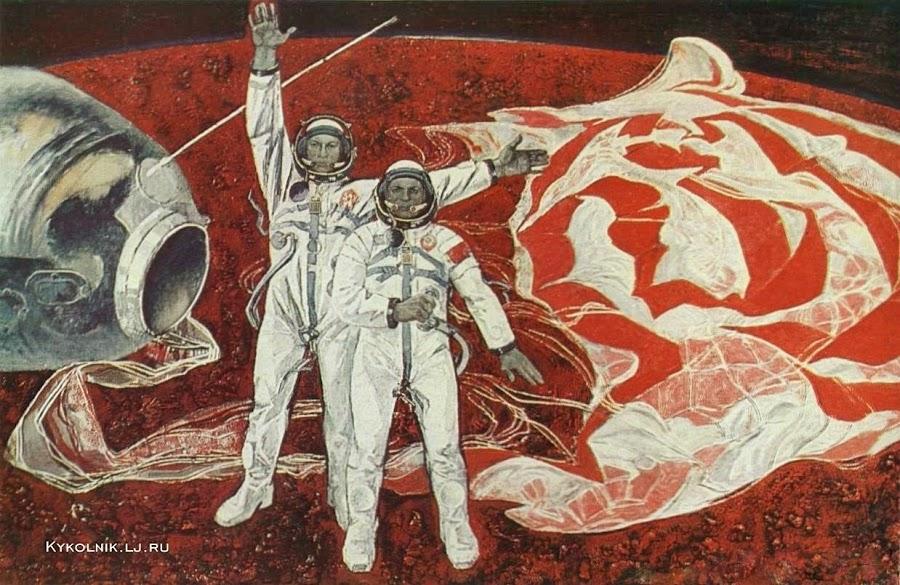 Рязанов Юрий Филиппович (Россия, 1936) «Первый интернациональный экипаж» 1976