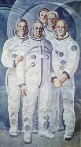 Скрипков Яков Никифорович (1919-2016) «Союз-Аполлон» 1970-е