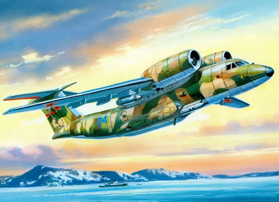Валерий Руденко. Советский патрульный самолёт Ан-72П