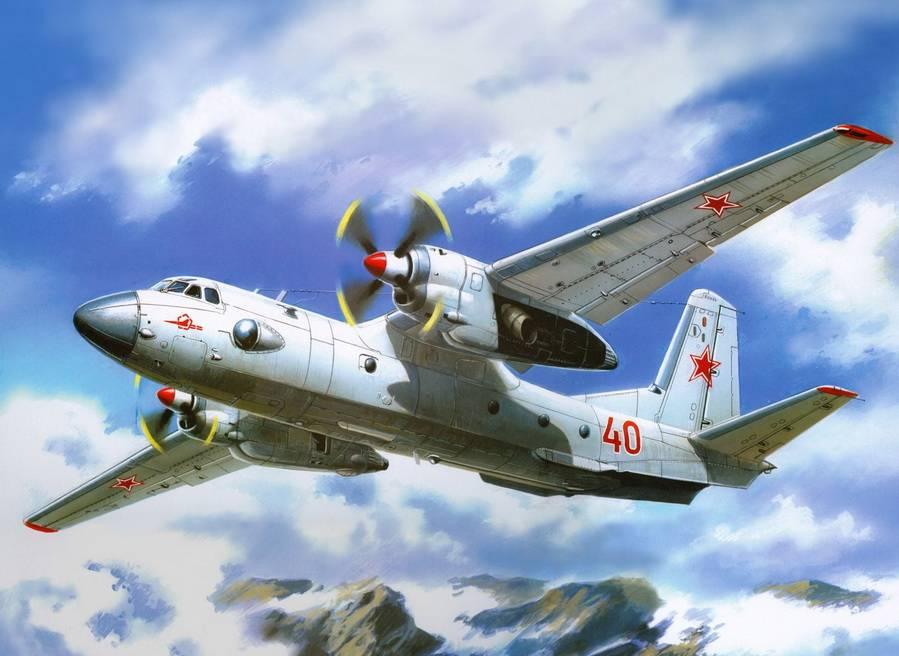 Валерий Руденко. Советский военно-транспортный самолёт Ан-26