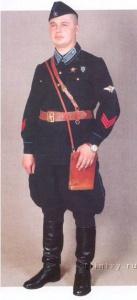 Старший лейтенант в повседневной форме,ВВС, 1936-40 г.