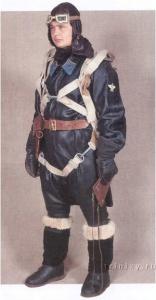 Лейтенант в полетной форме, военно-воздушные силы, 1936-43 г.