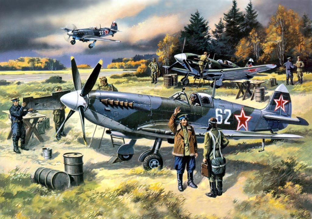 Руденко Валерий. ПВО Москвы (Советские пилоты.)