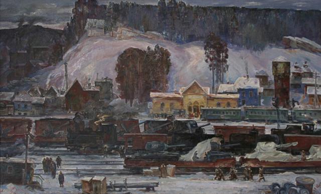 Аверин Александр. Эшелоны Урала.