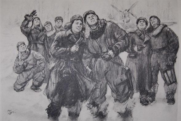 Жуков Николай. Летчики.