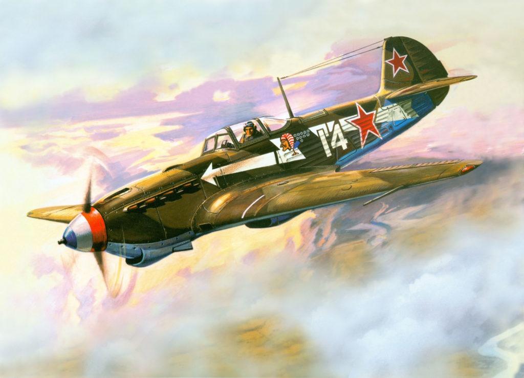 Руденко Валерий. Истребитель Як-1Б.