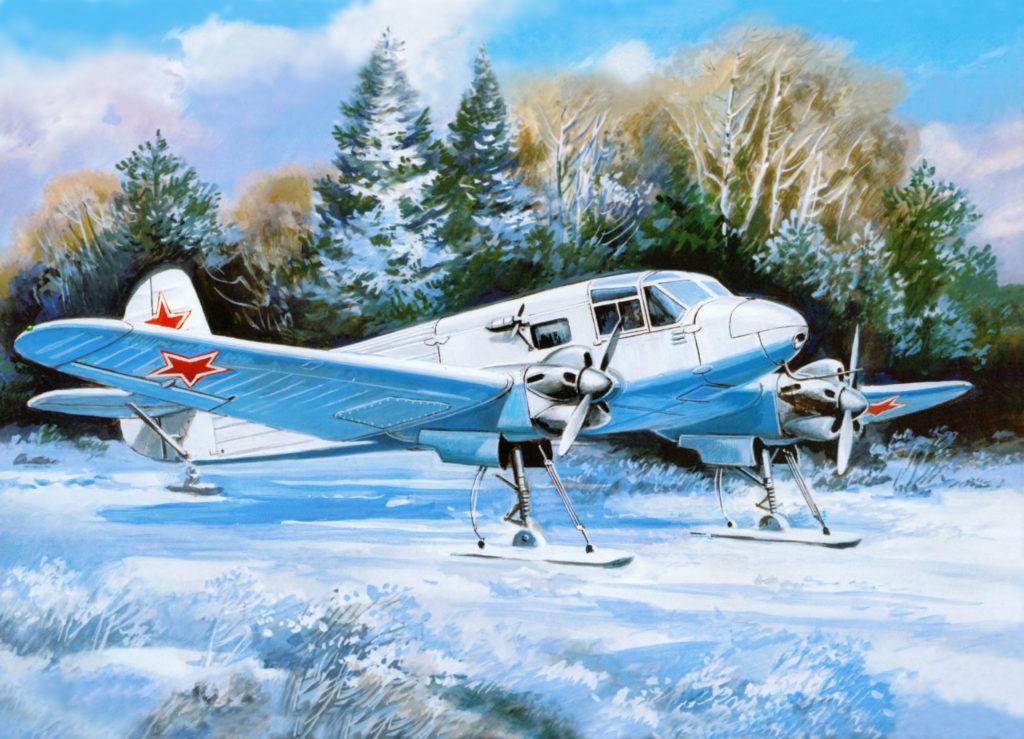Руденко Валерий. Транспортный самолет Як-6М.
