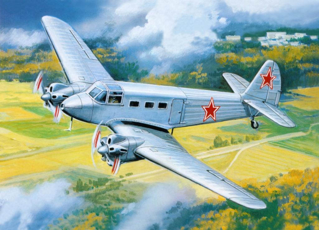 Руденко Валерий. Транспортный самолет Як-8.