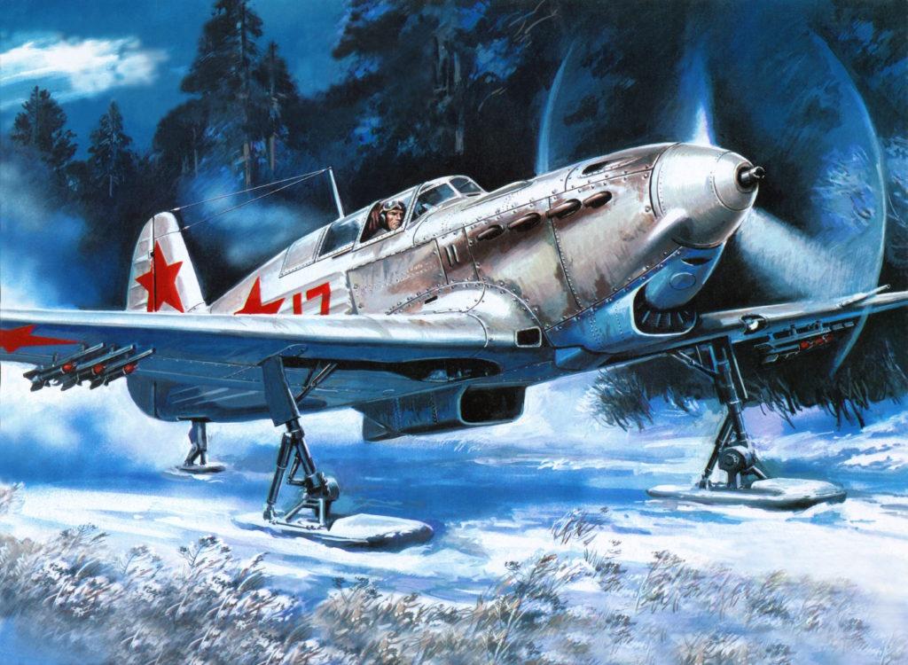 Руденко Валерий. Истребитель Як-9Б.