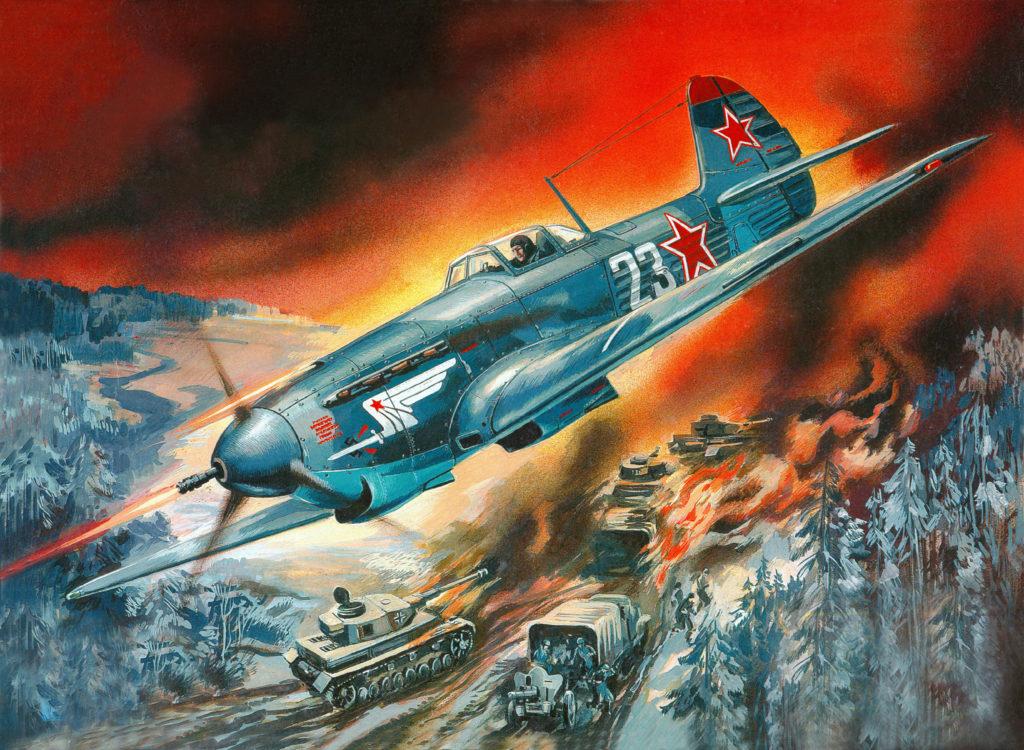 Руденко Валерий. Истребитель Як-9К.