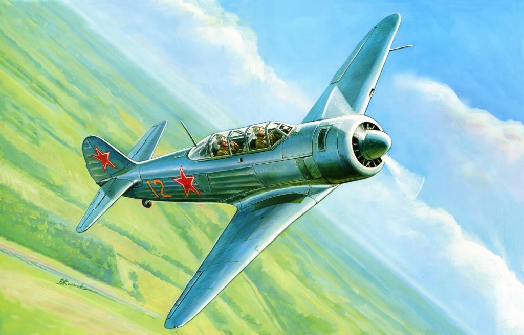 Жирнов Андрей. Учебно-тренировочный истребитель Як-11.