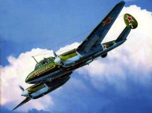 Жирнов Андрей. Бомбардировщик ПЕ-2.