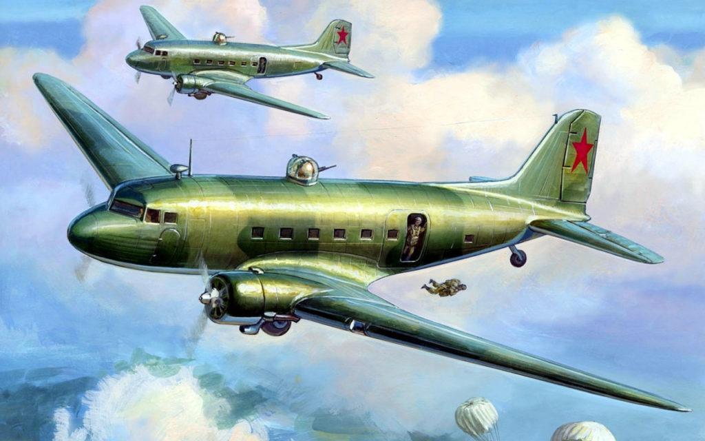 Жирнов Андрей. Транспортный самолет Ли-2.