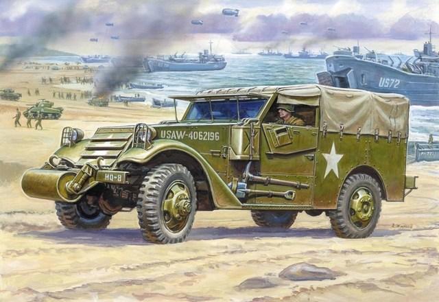 Жирнов Андрей. Бронеавтомобиль М-3.