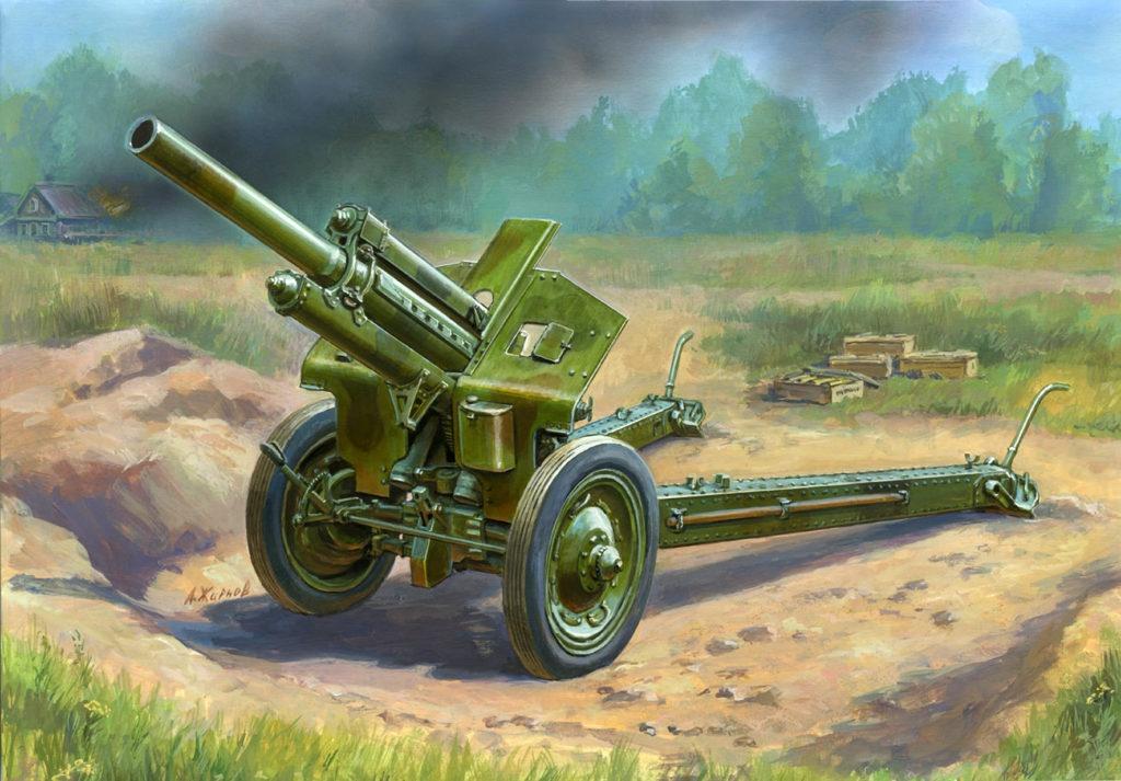 Жирнов Андрей. Гаубица М-30.