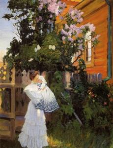 Борис Михайлович Кустодиев. Сирень,1906