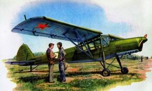 ОКА-38 «Аист» - самолет связи... в первый же день войны 22 июня при бомбежке каунасского аэродрома почти все ОКА-38 были уничтожены. По некоторым данным, несколько самолетов все же уцелело, и они были переданы немцами в ВВС Словакии. O.K. Антонов вернулся в Москву, и все дальнейшие работы по ОКА-38 больше не возобновлялись.