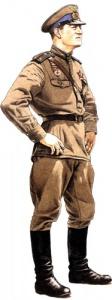Лейтенант ВВС. 1944. Униформа ВВС РККА во Второй мировой