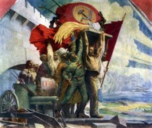 """С.Карпов """"Дружба народов"""", 1923-1924, Государственный центральный музей современной истории России"""