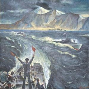 Кузьмин Николай Афанасьевич (1920-2002) «Прощайте, скалистые горы» 1982