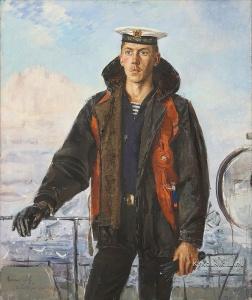 Знак Анатолий Маркович (1939-2002) «Сигнальщик» 1983