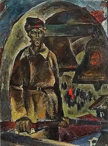 ДЯГИЛЕВ Анатолий Иванович (1935-2001) «Набатный» 1978 г.