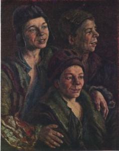 БОГОРОДСКИЙ Фёдор Семёнович (1895-1959) ► «Беспризорники». 1926 г. Государственная Третьяковская галерея, Москва.