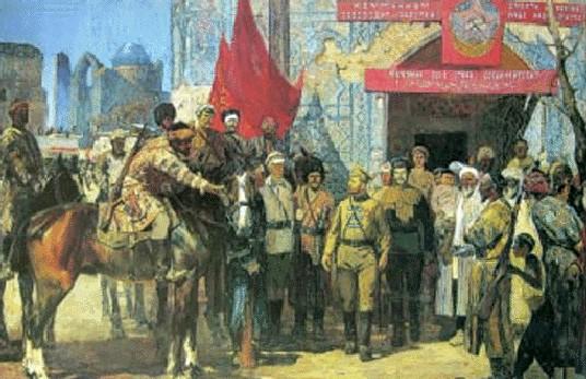 В. Сибирский. Туркестан советский. 1920 год. 1982