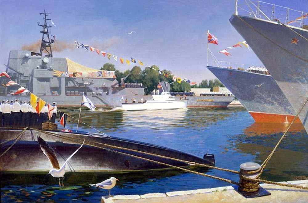 Балтийская эскадра (Олег Ездаков, 2008 год)