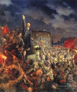 Серов Владимир Александрович (1910-1968) «Да здравствует Октябрьская революция!». 1951