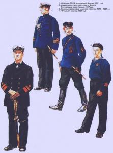 Рабоче-крестьянский Красный флот (РККФ), 1917 — 1921 г.г. Рисунки Роберто Паласиос-Фернандеса.