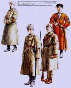 Рабоче-крестьянская Красная Армия (РККА), 1918 - 1920 г.г. Рисунки Роберто Паласиос-Фернандеса