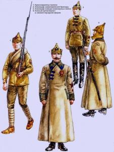 Рабоче-крестьянская Красная Армия (1920 - 1922 г.г.) Рисунки Роберто Паласиос-Фернандеса