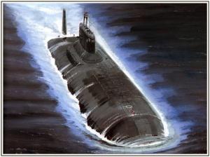 """Атомный подводный крейсер """"Акула"""""""