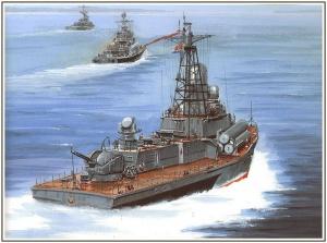 """Малый ракетный корабль """"Циклон"""""""