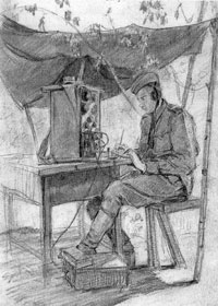 С.С. Уранова. Радист Колосов. Фрагмент. 4 июня 1943 г.