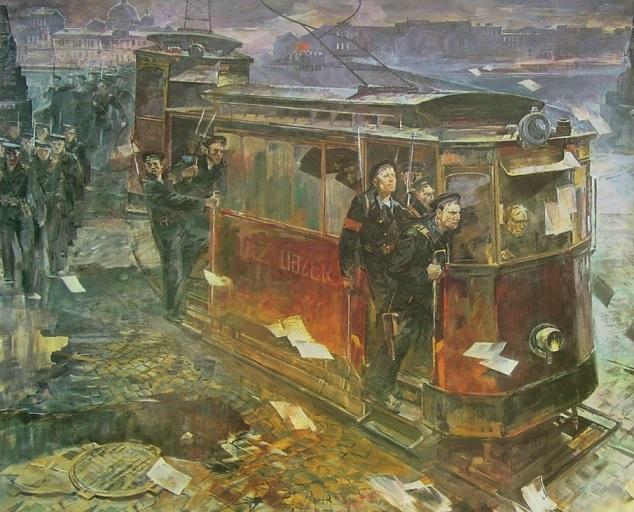 Усыпенко Юрий Федорович. «Революционный Петроград» 1984