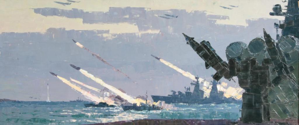 Учения на Краснознаменном Черноморском флоте Мальцев Петр Тарасович