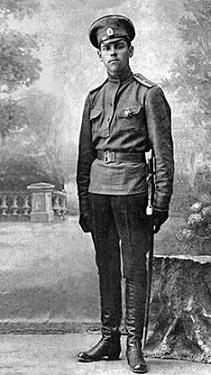 Штабс-капитан Александр Михайлович Василевский