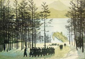 Бибиков Виктор Сергеевич (1903-1973) «Возвращение из похода» 1960