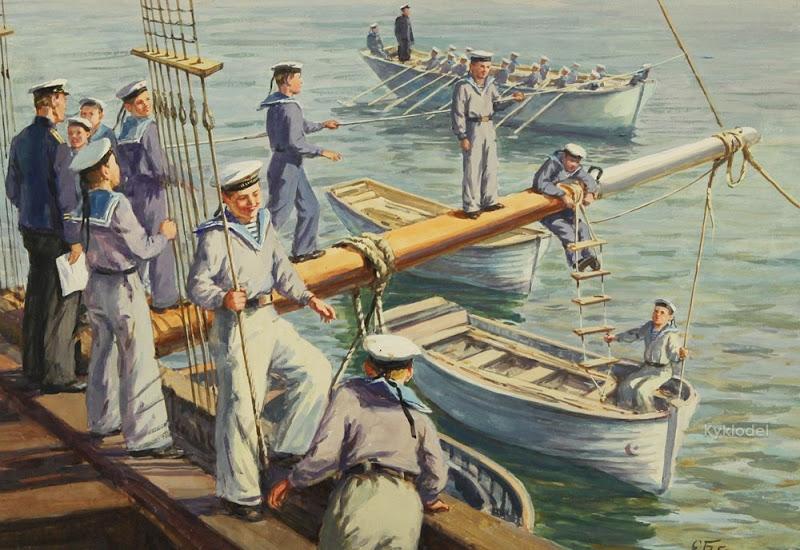 Боим (Бойм) Соломон Самсонович (РОССИЯ 1899-1978) На практике 1950