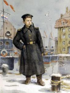 Боим Соломон Самсонович (1899, Курская губерния – 1978, Москва) Юнга 1946