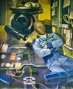 Борисов Михаил Владимирович (1959–1998) «В.В. Лебедев на космическом корабле «Союз-13» 1983
