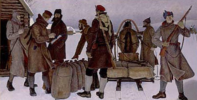 КАЛЯСКИН Иван Владимирович «Продразверстка» (1984)