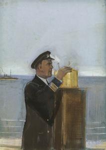 Лабас Александр Аркадьевич (1900-1983) «Штурман» 1936