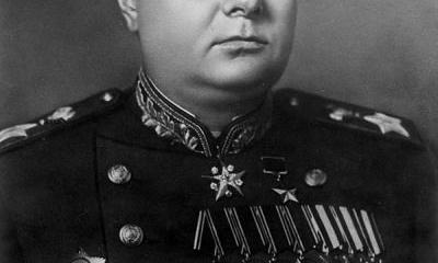 Маршал Советского Союза Мерецков К.А.